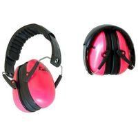 Pozostałe bezpieczeństwo w domu, Słuchawki ochronne nauszniki dla dzieci od ok 2lat - różowe