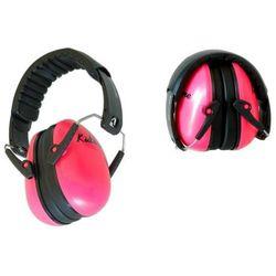 Słuchawki ochronne nauszniki dla dzieci od ok 2lat - różowe