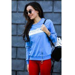 Damska bluza EXCITING BLUE