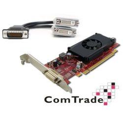 Karta Graficzna GeForce 310, 512 MB 128bit + przejściówka DMS-59 do 2x DVI