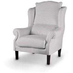 Dekoria Fotel, przestrzenny wzór w różowo-szarej kolorystyce, 85x107cm, Rustica do -30%