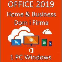 Programy biurowe i narzędziowe, Office Home Business 2019/Wersja PL/Klucz elektroniczny/Szybka wysyłka/F-VAT 23%