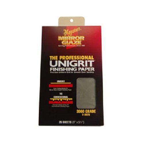 Pozostałe kosmetyki samochodowe, Meguiar's Unigrit® 3000 - 1 Sheet