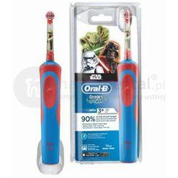 BRAUN Oral-B Stages Power D12 900TX - szczoteczka elektryczna dla dzieci w wieku pow. 3 lat - wersja STAR WARS