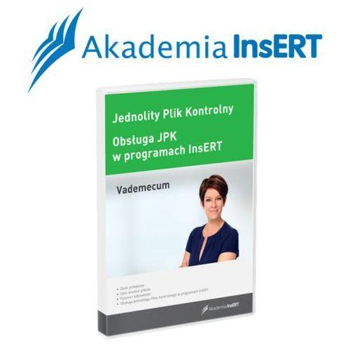 Programy kadrowe i finansowe, Akademia InsERT: JPK - vademecum oraz obsługa w programach InsERT