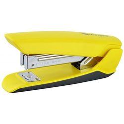 Zszywacz KANGARO Nowa-35/S, zszywa do 25 kartek, plastikowy, w pudełku PP, żółty
