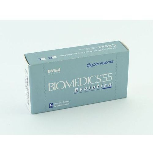 Soczewki kontaktowe, Biomedics 55 Evolution - 6szt