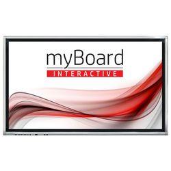 """Monitor interaktywny myBoard Grey D-LED 65"""" 4K UHD z Androidem - VAT 0% OFERTA TYLKO DLA SZKÓŁ!"""