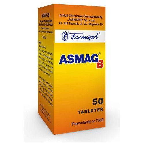 Witaminy i minerały, Asmag B x 50 tabl.