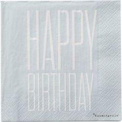 Serwetki papierowe happy birthday 20 szt.