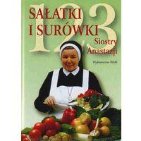 Książki kulinarne i przepisy, 123 sałatki i surówki siostry Anastazji - Anastazja Pustelnik (opr. twarda)