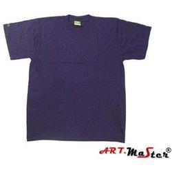 SAHARA T-shirt bawełniany MIX KOLORÓW art master L niebieska