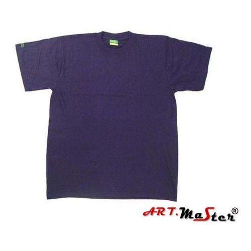 Kombinezony i spodnie robocze, SAHARA T-shirt bawełniany MIX KOLORÓW art master XXXL Czerwony