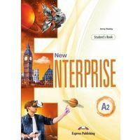 Książki do nauki języka, New Enterprise A2 SB + DigiBook EXPRESS PUBL. - Jenny Dooley (opr. broszurowa)