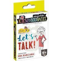 Gry dla dzieci, Kieszonkowiec angielski Let's Talk (9+) - Dorota Kondrat