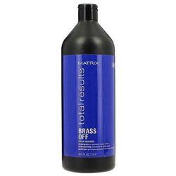 Matrix Total Results Color Obsessed Brass Off szampon do włosów neutralizujący odcień 1000ml