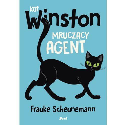 Książki dla dzieci, Kot Winston. Mruczący agent (opr. broszurowa)