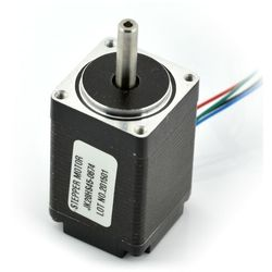 Silnik krokowy JK28HS45-0674 200 kroków/obr 4,5V / 0,67A / 0,09Nm