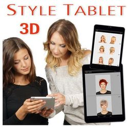 STYLE TABLET 3D - pakiet dodatkowych fryzur - Ślubne 30