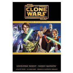 Film GALAPAGOS Gwiezdne Wojny: Wojny Klonów sezon 1 (4 DVD) Star Wars: The Clone Wars