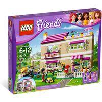 Klocki dla dzieci, Lego FRIENDS Dom olivii 3315