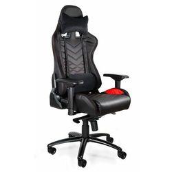 Fotel gamingowy Dynamiq V3 czarny-czerwony