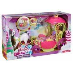 Barbie Karoca Krainy Słodkości + Lalka Barbie Dreamtopia Mattel DYX31