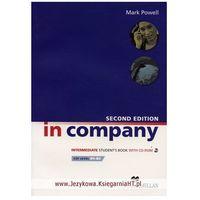 Książki do nauki języka, In Company Intermediate, Second Edition, Student's Book (podręcznik) + CD-ROM (opr. miękka)