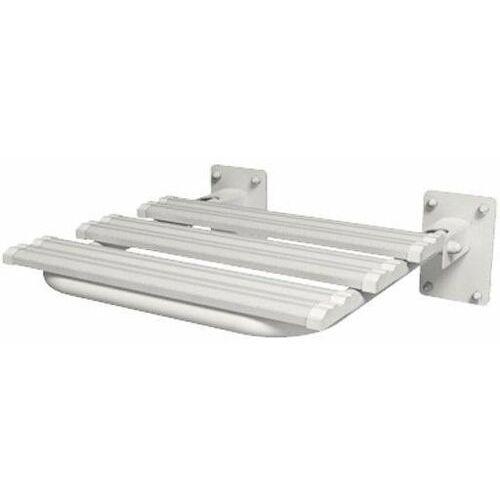 Siedzisko prysznicowe uchylne dla niepełnosprawnych skpu-2 sw b 44x46 cm marki Faneco