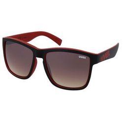 Okulary Uvex lgl 39 2316 Czerwone