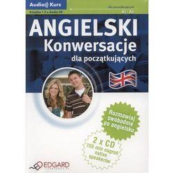 Angielski - konwersacje dla początkujących (książka 2 CD) (opr. miękka)