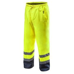 Spodnie robocze wodoodporne żółte XL NEO