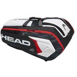 Head Djokovic 12R Monstercombi Black White
