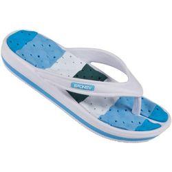 Klapki basenowe SPOKEY Medusa Niebiesko-Biały (rozmiar 38)