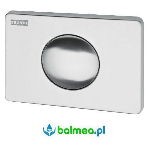 Franke Pojedynczy, przyciskowy panel spłukujący wc do zbiornika podtynkowego (7612982082542)