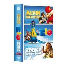 TRIO Z RIO (RIO, ALVIN I WIEWIÓRKI, EPOKA LODOWCOWA) - DVD