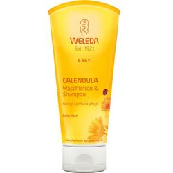 Weleda Baby Calendula Shampoo And Body Wash 200ml W Szampon do włosów