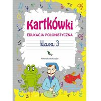 Książki dla dzieci, Kartkówki. Edukacja polonistyczna. Klasa 3 (opr. miękka)