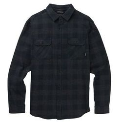 koszula BURTON - Brighton Flnl True Black Htr Buff (001) rozmiar: M