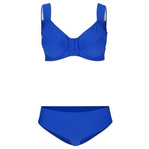 Stroje kąpielowe, Biustonosz bikini na fiszbinach bonprix koralowy