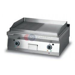 Grill płytowy elektryczny - płyta 1/2 ryflowana + 1/2 gładka dwie strefy grzewcze Lozamet linia 900 L900.GPE900RG