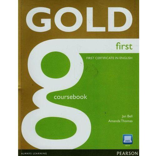 Książki do nauki języka, Gold First, Coursebook (podręcznik) plus ActiveBook (opr. miękka)