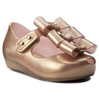 Półbuty i trzewiki dziecięce, Półbuty MELISSA - Mini Melissa Ultragirl Triple 32335 Metallic Pink 19763