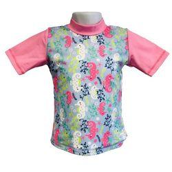 Koszulka kąpielowa bluzka dzieci 108cm filtrem UV50+ - Sea Horse \ 108cm