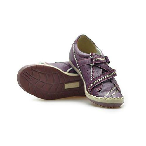 Pozostałe obuwie dziecięce, Półbuty dziecięce Kornecki 02330 Fioletowe lico