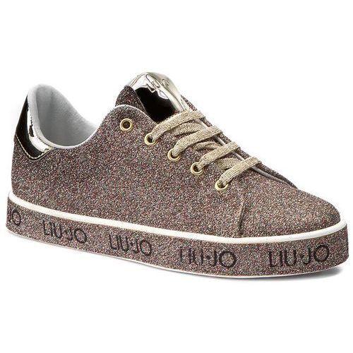 Półbuty damskie, Sneakersy LIU JO - Sneaker Leona S67237 T9575 Glitter Multicolor A6505