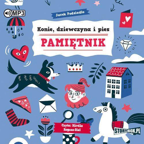 Literatura młodzieżowa, CD mp3 konie dziewczyna I pies pamiętnik
