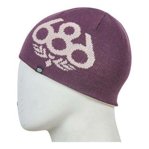 Czapki i nakrycia głowy dziecięce, czapka zimowa 686 - Glow Reversible Beanie Dusty Pink (DSPK)