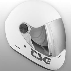 kask TSG - Pass Solid Color Satin White (208) rozmiar: S