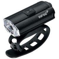 Oświetlenie rowerowe, LAMPA PRZEDNIA INFINI TRON 100 Black USB - I-280P-B- Zamów do 16:00, wysyłka kurierem tego samego dnia!
